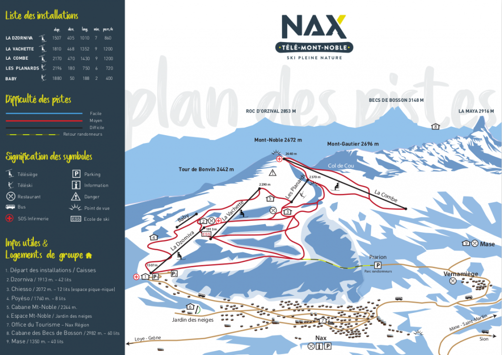 nax slope map