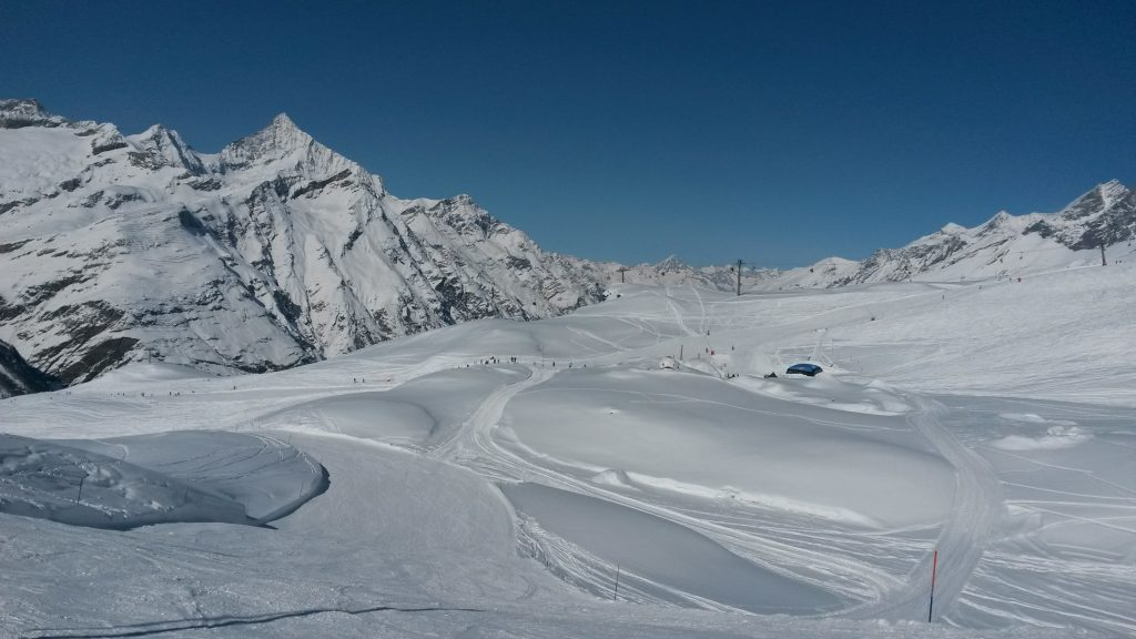 slopes in zermatt